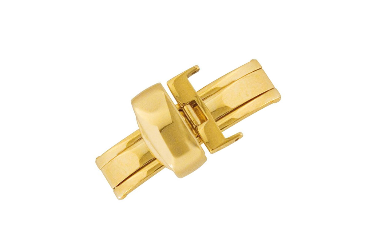 Catarama galbena model fluture 20 mm